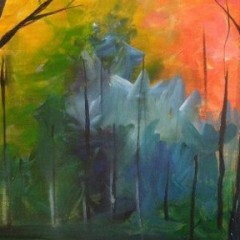 Paint, Sip…Create – 'Fall Forest'