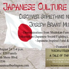 Japanese Culture Day at Joseph Brant Museum