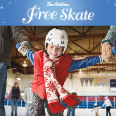 Tim Hortons Free Holiday Skate