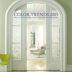 Benjamin Moore Color Trends 2015