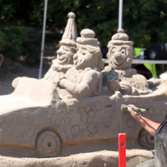 Burlington's 8th Sandcastles Festival
