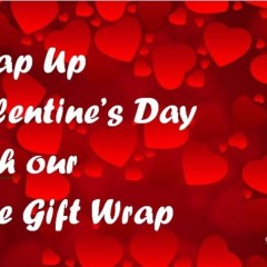 Free Gift Wrapping for Valentine's Day