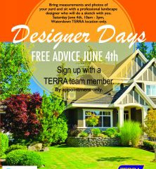 Free Designer Day – Waterdown