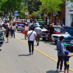 Burlington Downtown Car Show