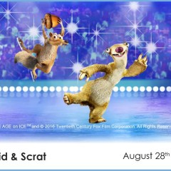 Meet Sid & Scrat from ICE AGE